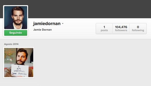 Jamie Dornan (Foto: Instagram / Reprodução)