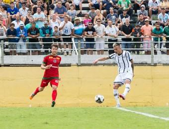 Alemão lateral Bragantino x Velo Clube (Foto: Rafael Moreira/C.A. Bragantino)