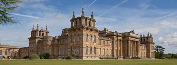 O palácio de Liliput é, na verdade, o Blenheim Palace, na Inglaterra (Foto: Divulgação / Reprodução)