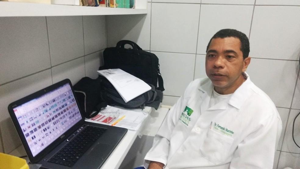 Fernando de Souza Marinho, perito odontolegista do Itep/RN (Foto: Anderson Barbosa/G1)