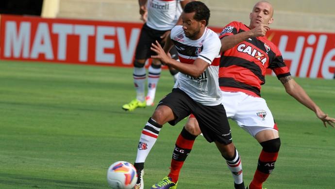 Atlético-GO x Santa Cruz (Foto: Carlos Costa / Futura Press / Estadão Conteúdo)