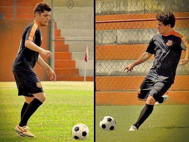 Vocês sabia que os dois já foram jogadores profissionais? (Foto: Avenida Brasil/TV Globo)