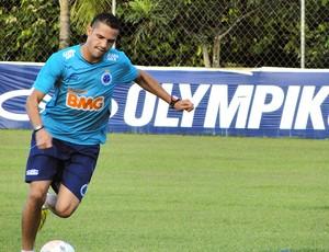 Anselmo Ramon treino Cruzeiro (Foto: Tarciso Badaró)