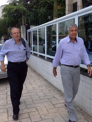 Antonio Carlos Mantuano e Carlos Eduardo Pereira (Foto: Vicente Seda)