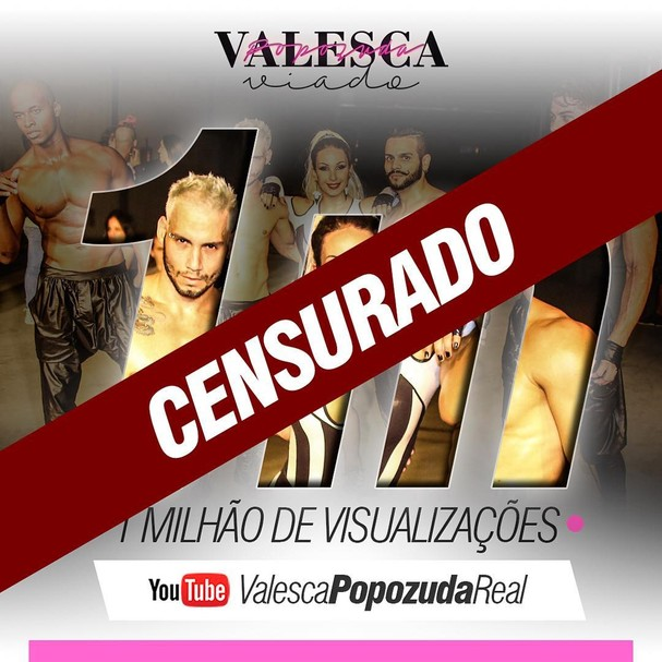 Valesca Popuzada diz que clipe foi censurado (Foto: Reprodução Instagram)