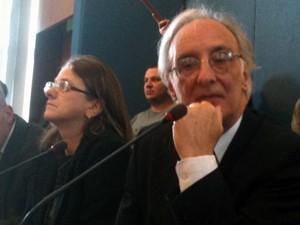 """Reitor da UnB, José Geraldo de Sousa: """"Quase fui pego numa postura de perplexidade na sexta-feira"""" (Foto: Raquel Morais/ G1)"""