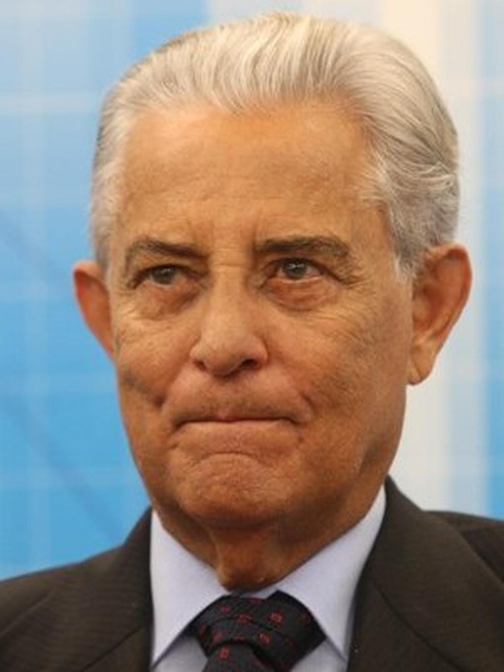 Ex-governador do Distrito Federal, Joaquim Roriz (PSC), em foto de 1º de setembro. (Foto: André Dusek / Agência Estado)
