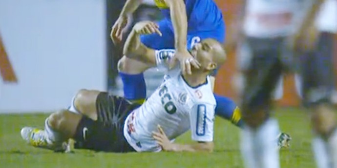 emerson sheik corinthians x boca juniors (Foto: Reprodução/Globoesporte.com)