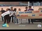 Residentes do HC-UFU protestam após restrição no atendimento