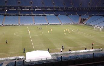 Com gol no fim, Juventude e Ypiranga empatam na Arena em estreia gaúcha