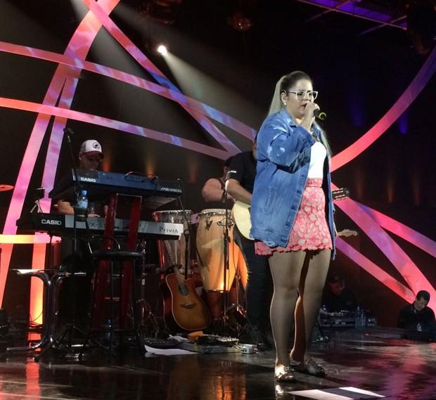 """Bastidores de gravação do """"Música Boa"""" (Foto: Rafael Godinho/Ed. Globo)"""