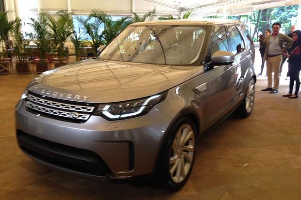 Land Rover Discovery (Foto: Julio Cabral / Autoesporte)