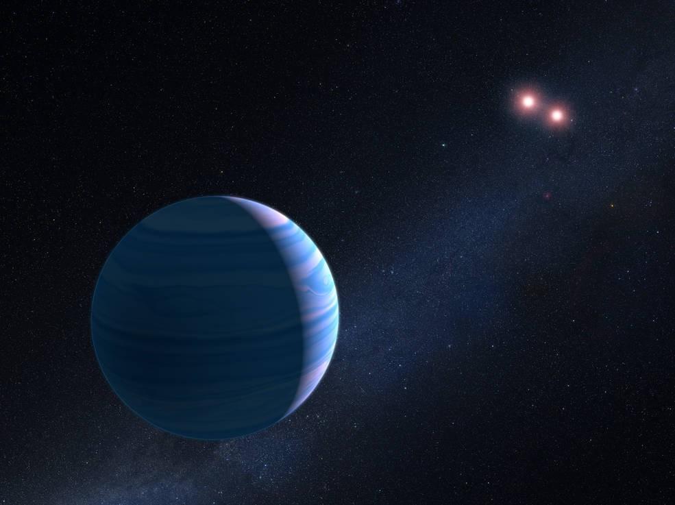 (Foto: NASA, ESA, and G. Bacon (STScI))