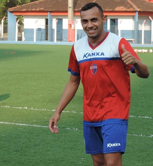 boa sorte, artilheiro! (Ronaldo Nascimento / GloboEsporte.com)