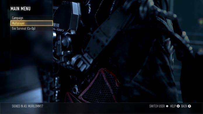 Call of Duty: Advanced Warfare: como jogar partidas no modo Hardcore (Foto: Reprodução/Murilo Molina)
