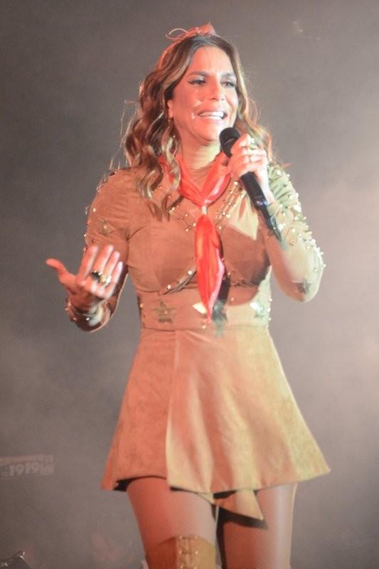 Ivete Sangalo (Foto: AgNews/)
