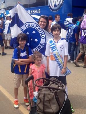 Magali de Souza; mogi; Turma da Mônica (Foto: Arquivo Pessoal: Magali de Souza)