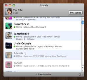 interface friendz