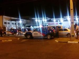 Fiscalização foi feita em postos de gasolina, praças e cruzamentos de Boa Vista (Foto: Divulgação/Polícia Militar)