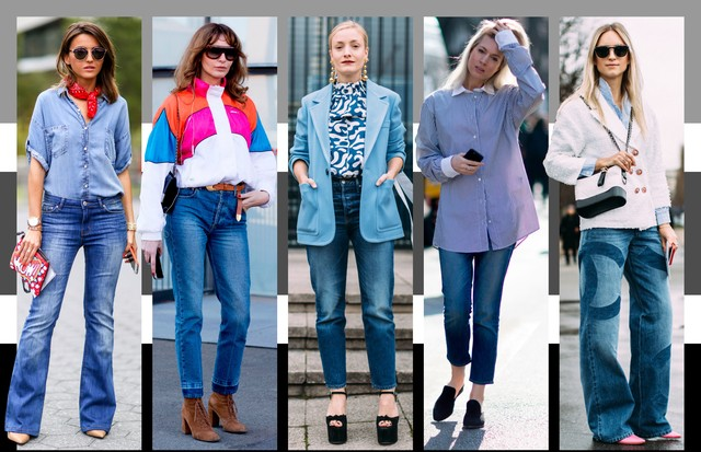 Jeans manchado (Foto: Arte Vogue Online)