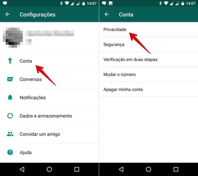 Whatsapp Como Ocultar Sua Foto De Perfil Para Contatos