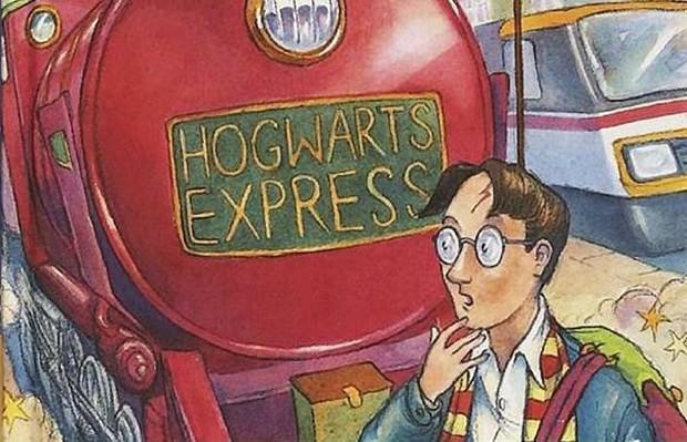 Detalhe da capa de Harry Potter e a Pedra Filosofal, de JK Rowling (Foto: Reprodução/Amazon)