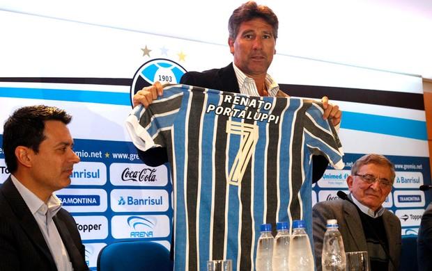 Apresentação Renato Gaucho Grêmio (Foto: Wesley Santos / Agência PressDigital)