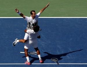 tenis us open leander paes radek stepanek (Foto: Getty Images)