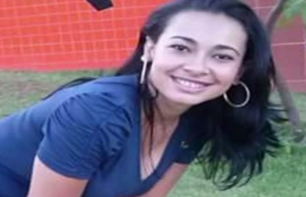 Gerlandia Costa morreu esfaqueada enquanto ia buscar filhas na escola em Anápolis, Goiás (Foto: Reprodução/TV Anhanguera)