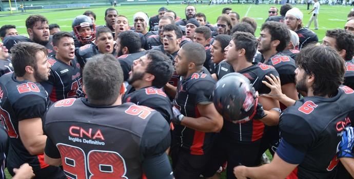 João Pessoa Espectros antes do início da partida (Foto: Amauri Aquino / GloboEsporte.com/pb)