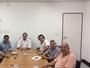 Diretoria do ASA se reúne com o vice- governador para tentar parcerias