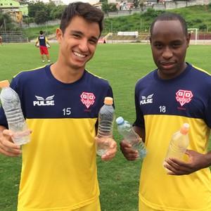 Matheus e Marquinho Audax (Foto: Mário Monteiro)