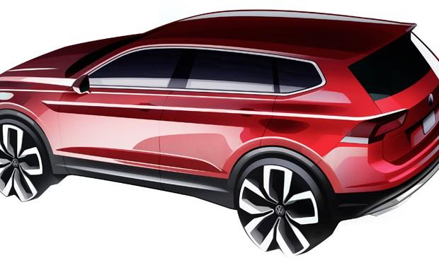 Volkswagen Tiguan Allspace (Foto: Divulgação)