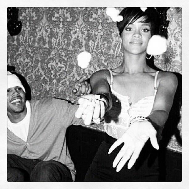 Rihanna posta foto de seu aniversário de 20 anos (Foto: Instagram)