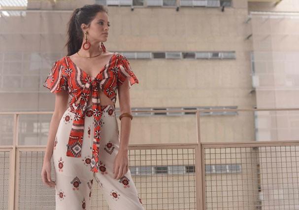 Agatha Moreira faz ensaio de moda (Foto: Divulgação)