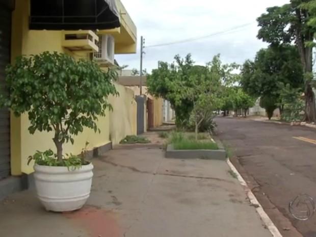 Caso ocorreu no bairro na Vila Planalto, em Campo Grande (Foto: Reprodução TV Morena)