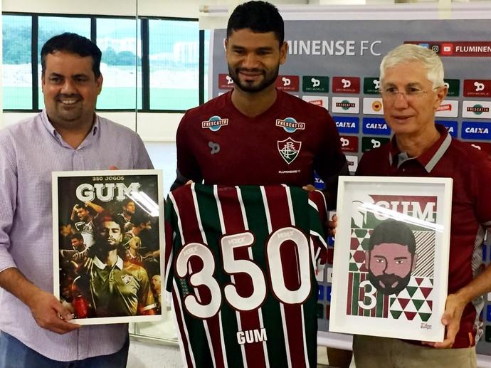 Gum Fluminense Homenagem (Foto: Edgard Maciel de Sá)
