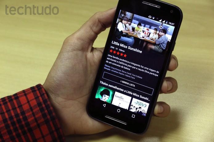 Netflix (Foto: Ana Marques/TechTudo)