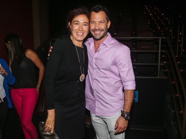Lilia Cabral e Malvino Salvador em pré-estreia de filme em São Paulo (Foto: Manuela Scarpa/ Foto Rio News)