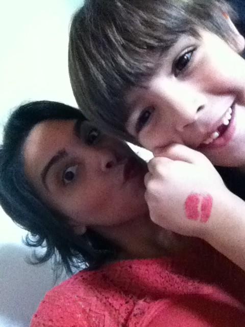 Camila com filho, Cauã (Foto: Arquivo pessoal)