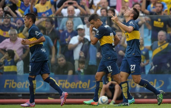 calleri boca juniors x Atletico Rafaela (Foto: AFP)