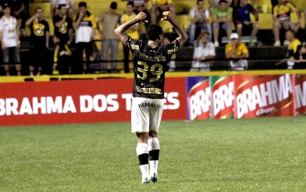 Elias gol Botafogo contra Criciúma (Foto: Fernando Ribeiro / Agência Estado)
