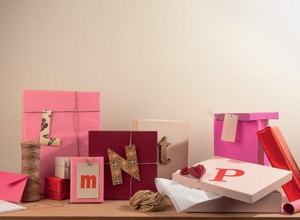 embrulho-de-presente-caixas-de-papelão (Foto: Carlos Cubi/Editora Globo)