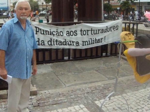 Evento ocorreu no dia em que golpe militar completa 51 anos (Foto: TV Verdes Mares/Reprodução)