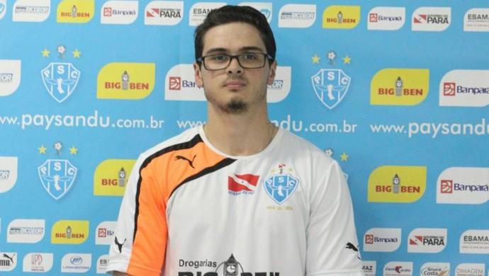 Bruno Rangel paysandu (Foto: Ascom Paysandu )