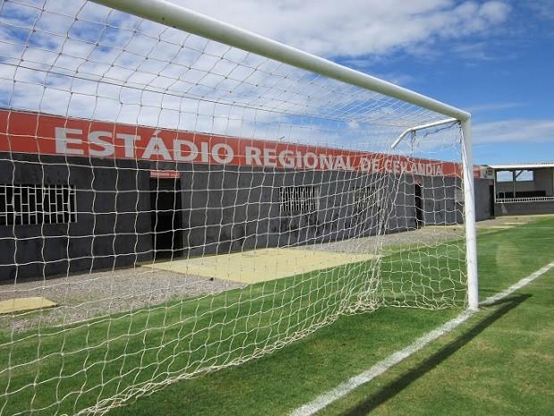 Estádio Abadião, em Ceilândia, no Distrito Federal (Foto: Gabriela Berrogain/G1)