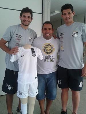 Goeber descarta jogar em 2015 para comandar escolinha do Santos ... b7dc3647a78f5