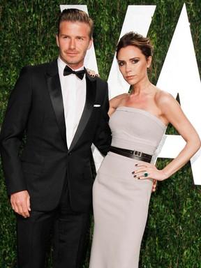 Pleasant Ego David Beckham Renova Os Votos De Casamento Com Victoria Hairstyles For Men Maxibearus