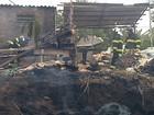 Depósito de materiais recicláveis é atingido por incêndio em Marília