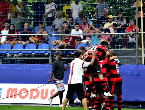 Flamengo vence o Fluminense na final do segundo turno do Carioca 3 (Foto: Davi Pereira/Jornal F7)
